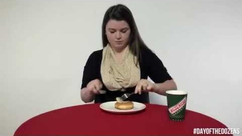 Krispy Kreme's 12 Ways to Eat a Doughnut