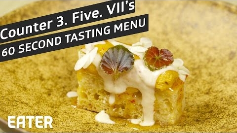 Counter 3.Five.VII In Austin Only Offers Tasting Menus