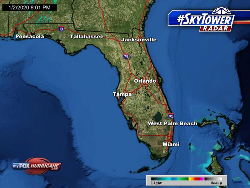 Weather Florida Map.Florida Radar Fox 13 Skytower View Fox 13 Tampa Bay