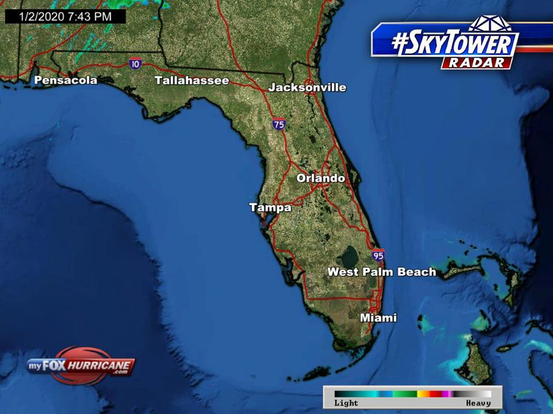 Florida radar | FOX 13 SkyTower view | FOX 13 Tampa Bay