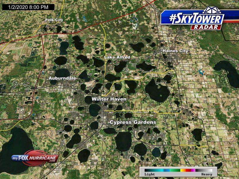 Winterhaven Florida Map.Skytower Radar View Of The Winter Haven Fl Area Fox 13 Tampa Bay