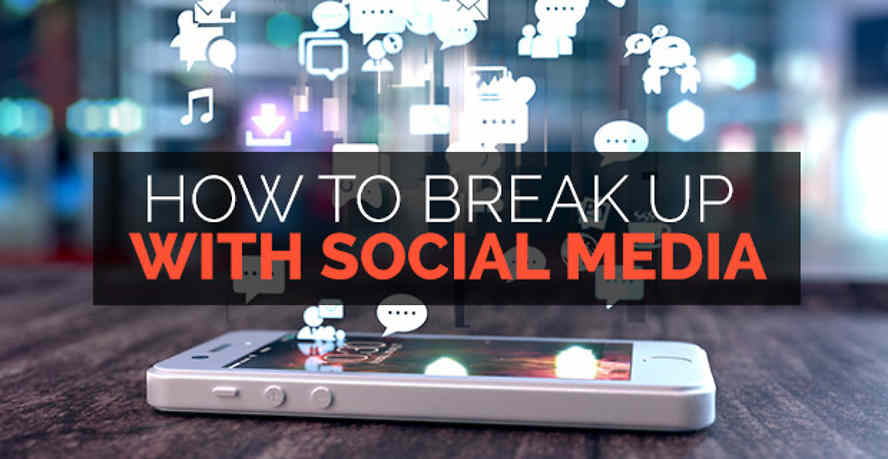 Break up social media