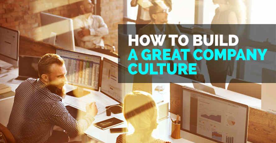 Build great company culture