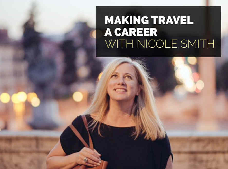 Making travel a career