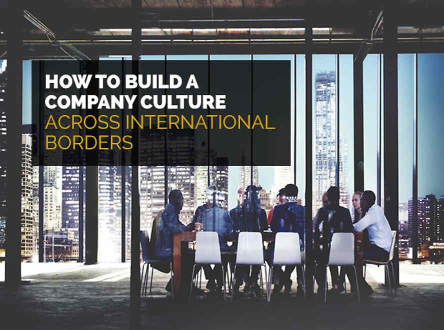 Build company across international borders