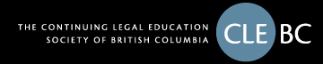The Continuing Legal Education Society of B.C.