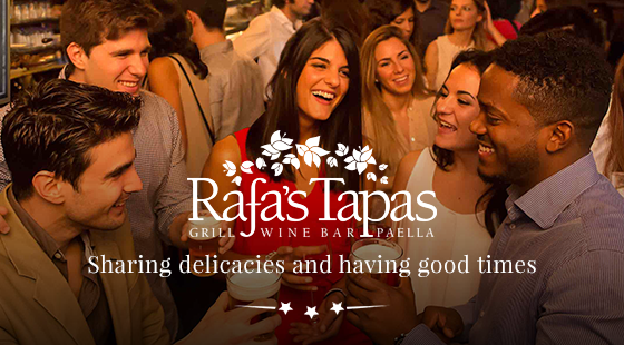 6f780a460f1f Rafa s Tapas Restaurant - The future of the dining experience ...