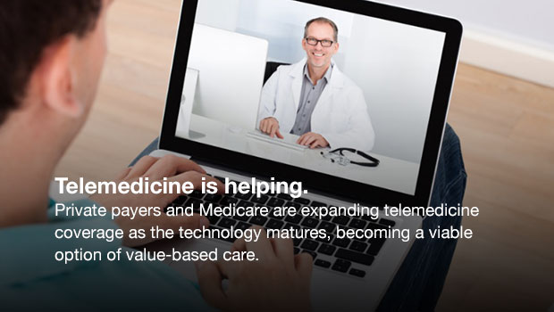 telemedicine for rural and underserved communities Recent research demonstrates that, relative to those in rural areas, residents in   metropolitan areas to patients in underserved rural or geographically remote.