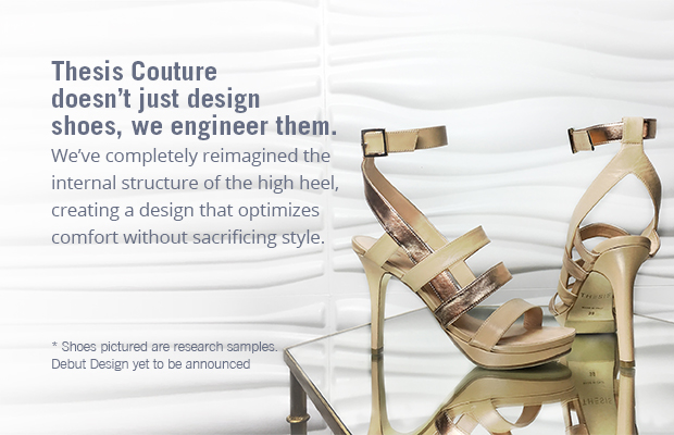a07f64fa9da6 Thesis Couture   A new standard for fashion footwear - iCrowdNewswire
