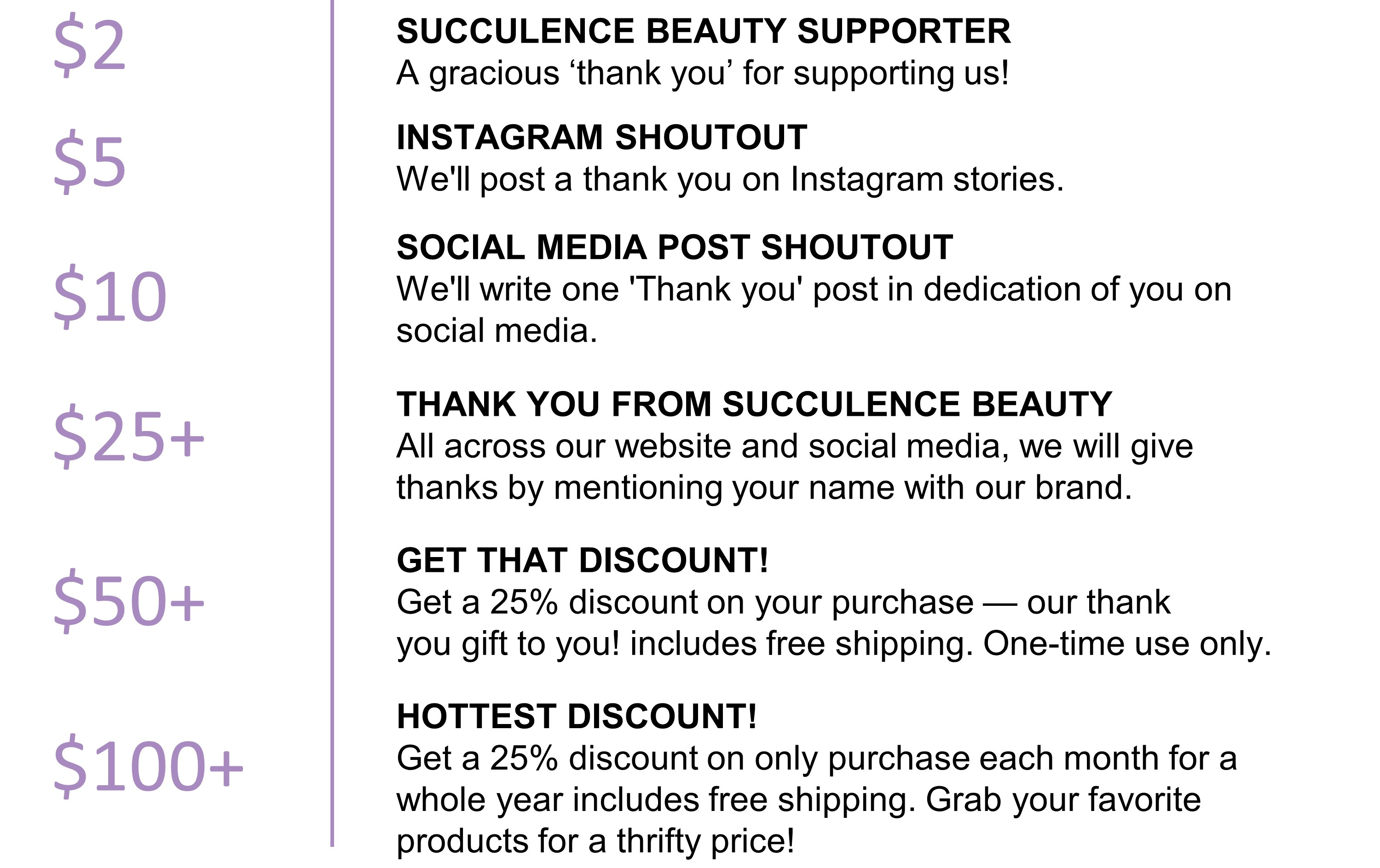 Succulence Beauty | Fundable - Crowdfunding for Small Businesses