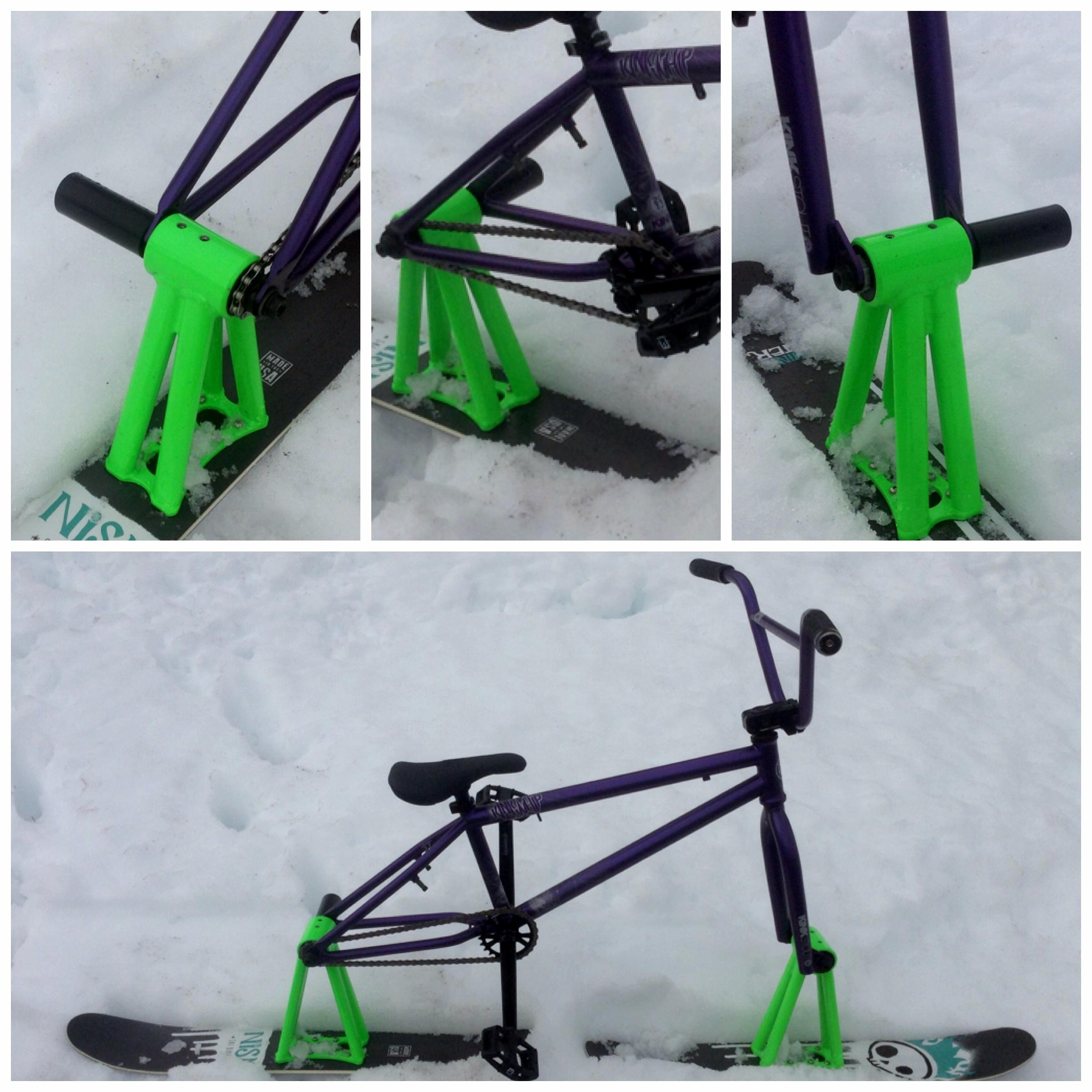 picture of nism ski bike