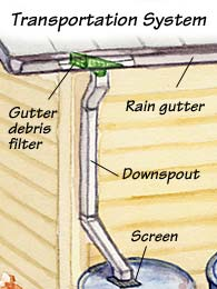 How To Harvest Rainwater Garden Gate