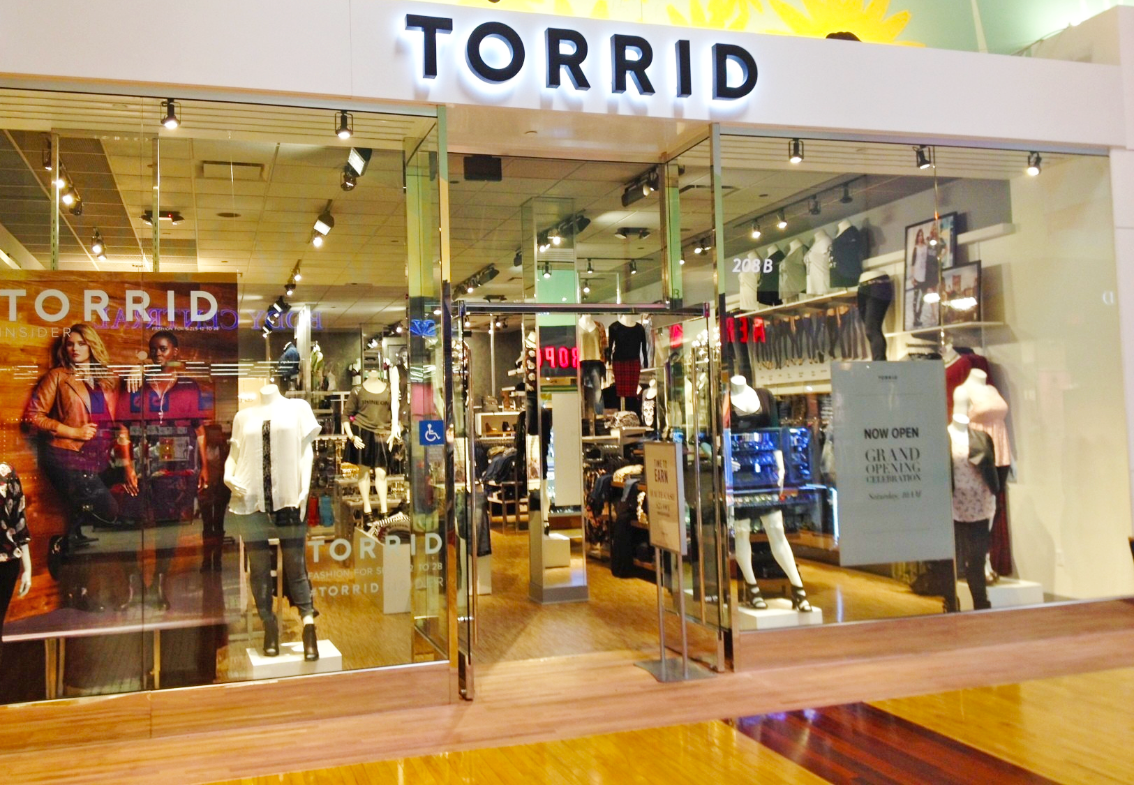 Torrids clothing store
