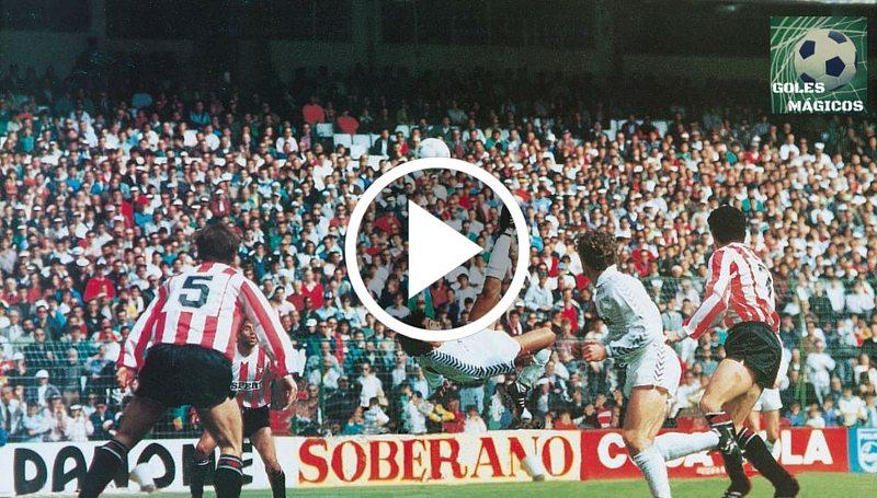 Hugo Sánchez chilena Logroñes
