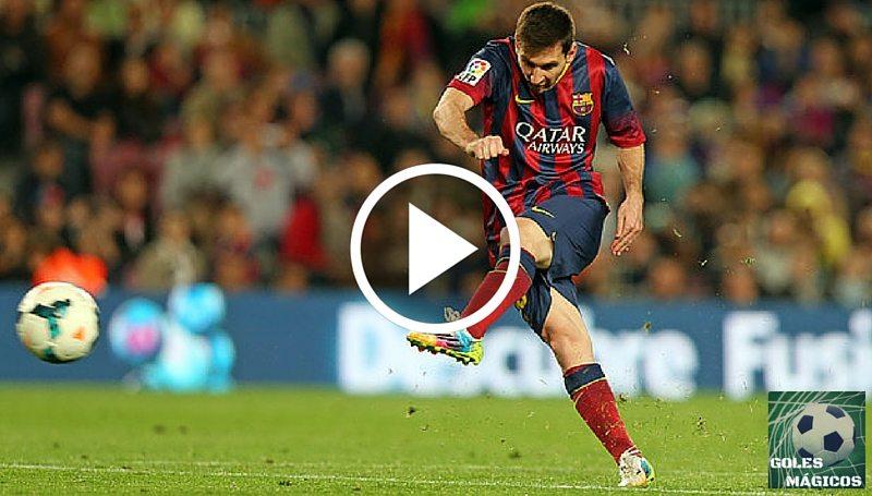 Messi gol atlético