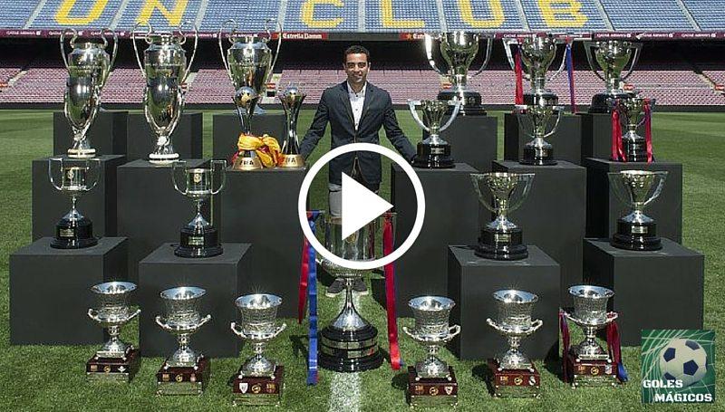 xavi trofeos