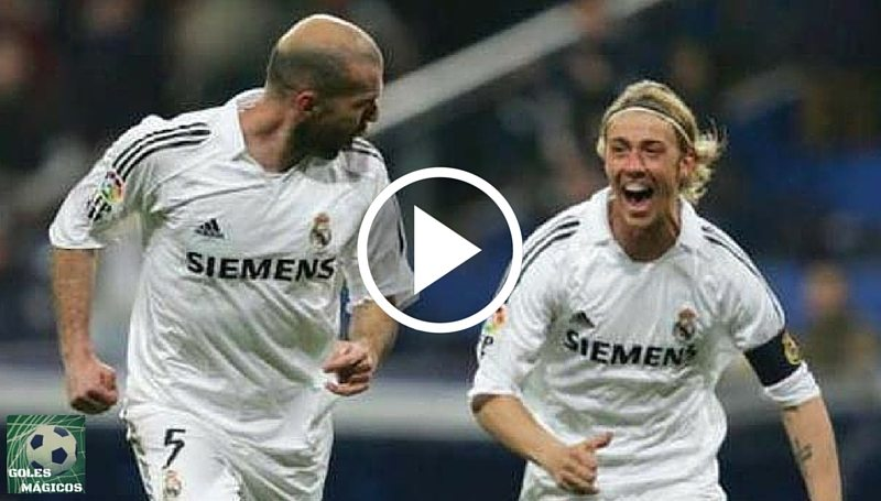 Guti y Zidane