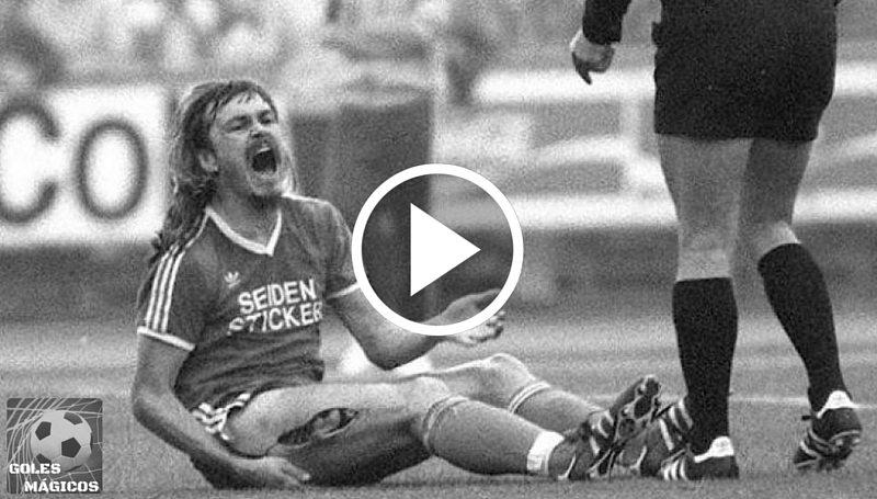 Ewald Lienen la lesión más grave