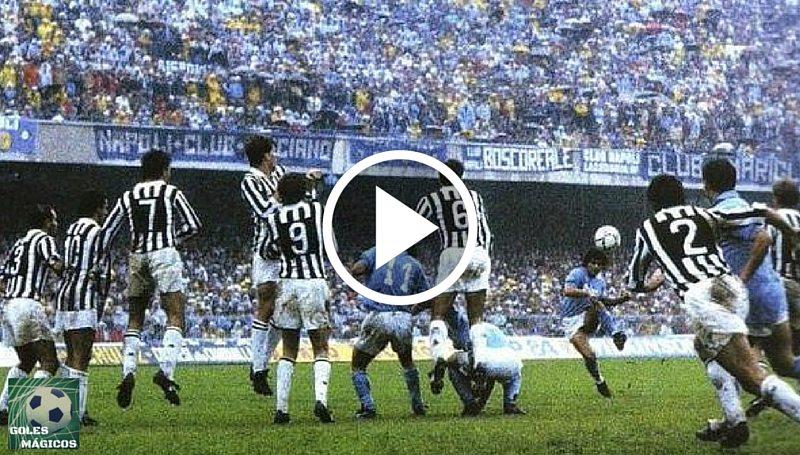 Maradona Falta Juventus