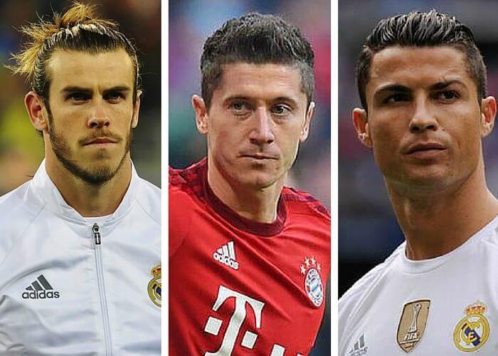 Bale Cristiano Ronaldo Lewandoski