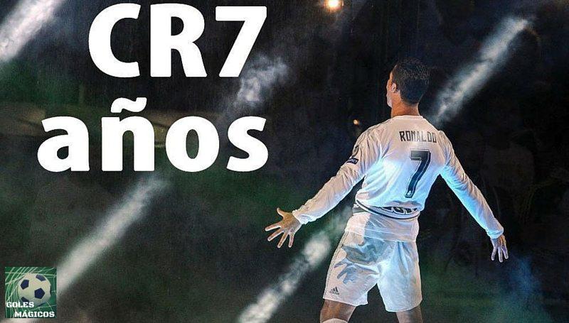 Cristiano Ronaldo 7 años