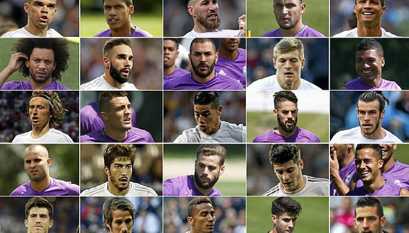 Plantilla Real Madrid