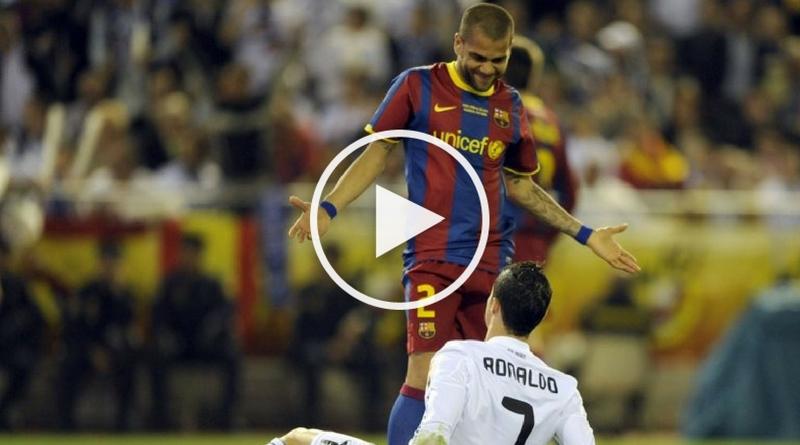 Dani Alves vs Cristiano Ronaldo