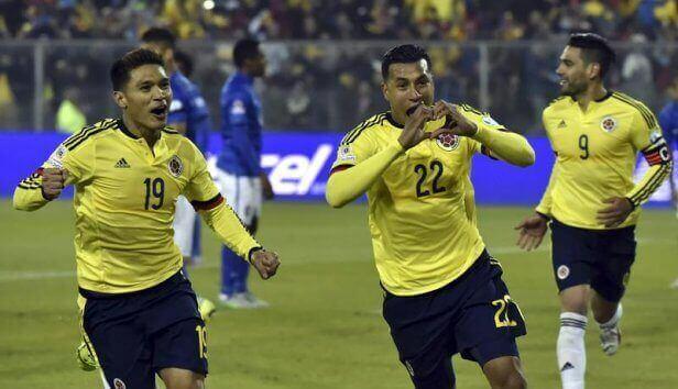 Brasil Colombia