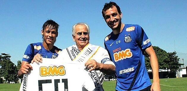Fallece Zito descubridor Neymar