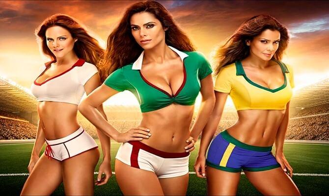 Chicas bellezas del mundial femenino fútbol Goles Mágicos