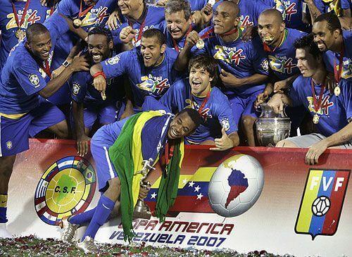 Brasil campeón Copa América Venezuela 2007 Goles Mágicos