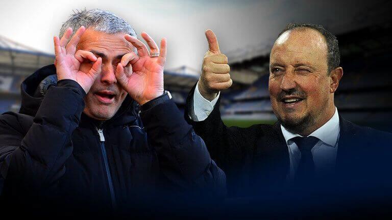 Jose Mourinho vs Rafa Benítez parodia