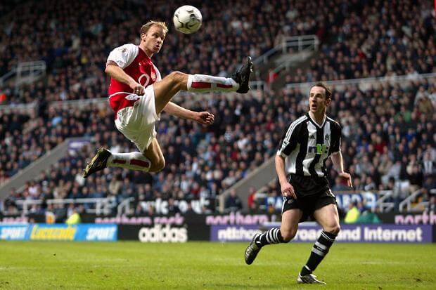 Bergkamp Arsenal