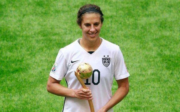 Carli Lloyd, mejor jugadora y máxima goleadora del Mundial femenino Canadá 2015