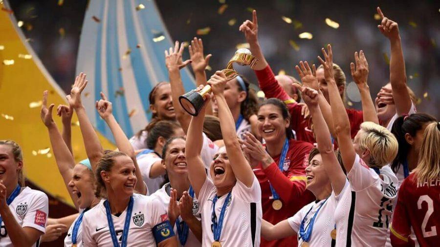 Estados Unidos celebra la Copa mundial femenina Canadá 2015