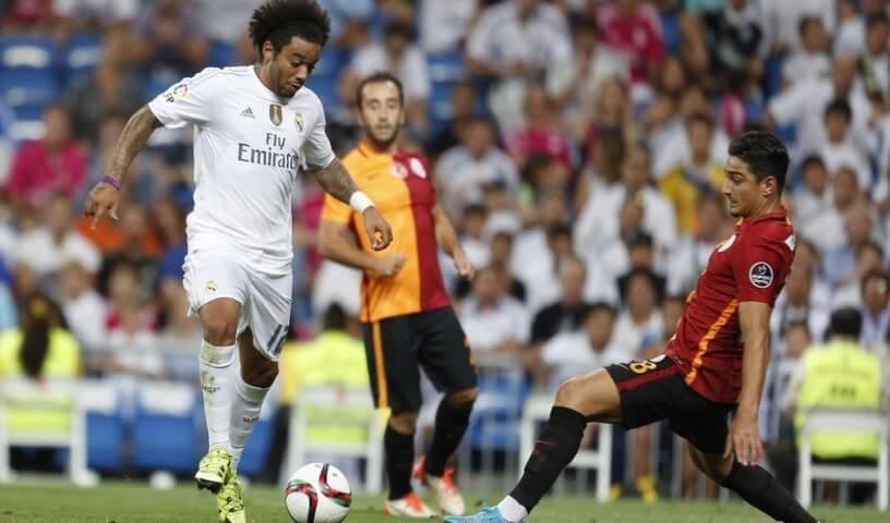 Marcelo gol Galatasaray Real Madrid Trofeo Santiago Bernabéu