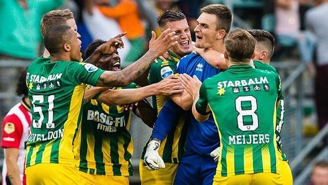 Martin Hansen goal Den Haag