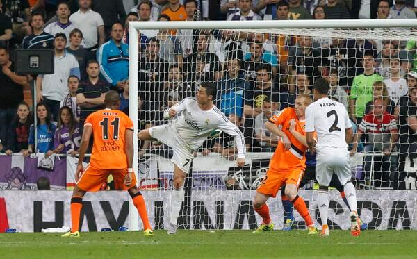 Cristiano Ronaldo espuela Valencia