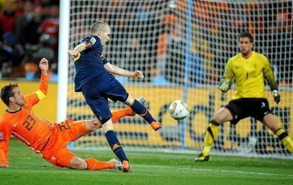 Gol Andrés Iniesta Holanda final mundial Sudáfrica 2010 España