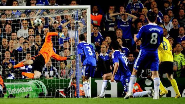 Gol Andrés Iniesta Chelsea Stamford Bridge