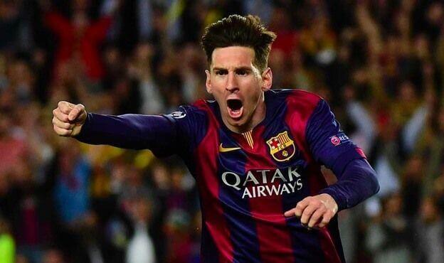 Leo Messi mejor gol temporada 2015