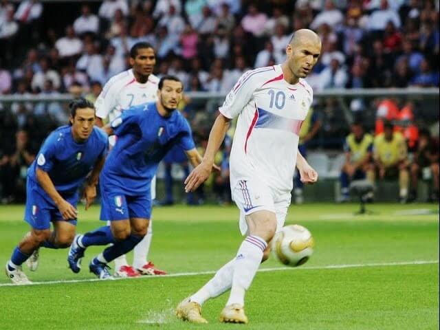 Zidane penalti panenka