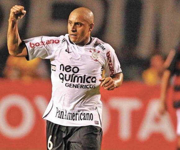 Roberto Carlos celebra