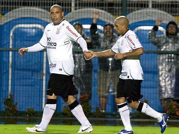 Roberto Carlos y Ronaldo