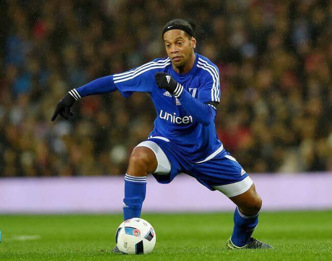 Ronaldinho unicef