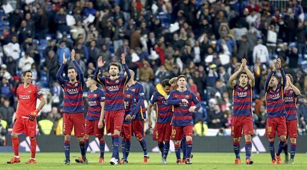 Barcelona victoria Bernabéu 0-4