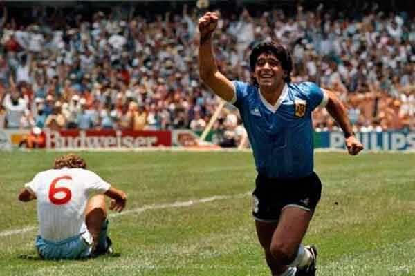 Maradona celebracion