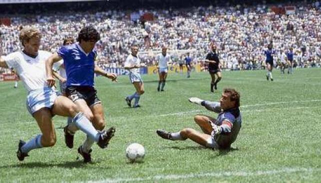 Maradona gol del siglo