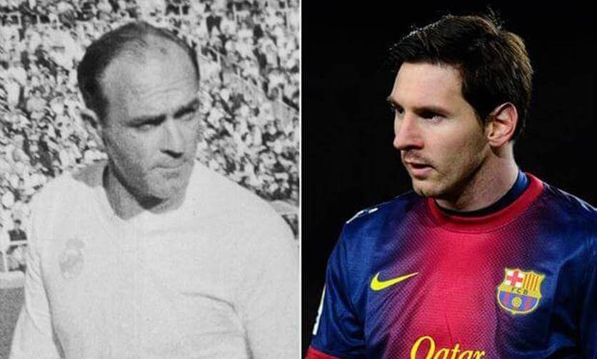 Leo Messi iguala record Di Stefano