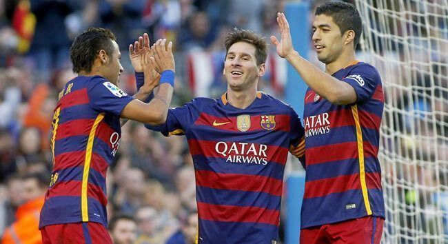 Leo Messi hat trick Granada